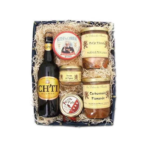 Panier Cadeau Ou Panier Cadeau : Panier cadeau quot le gourmet garni nord coffret