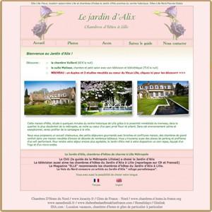 Le jardin d 39 alix gite et chambre d 39 h te nord r gion for Le jardin d alix lille